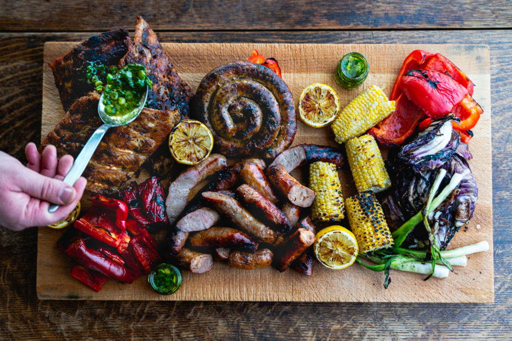 Mixed grill platter